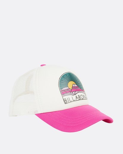 2 Girls' Ohana Trucker Hat Pink GAHWQBOH Billabong