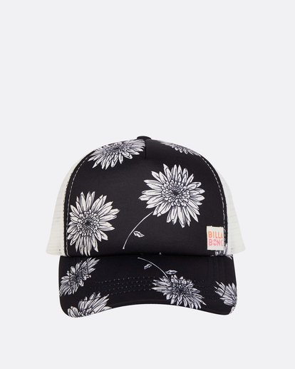 1 Girls' Shenanigans Trucker Hat Black GAHWQBSH Billabong