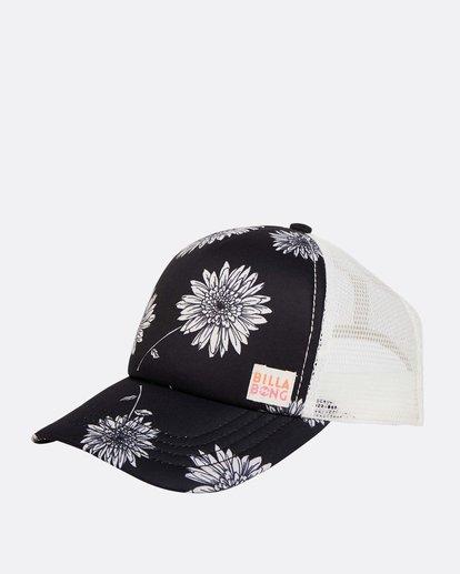 0 Girls' Shenanigans Trucker Hat Black GAHWQBSH Billabong