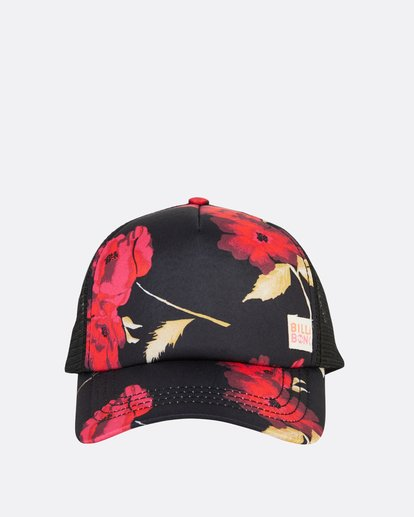 1 Girls' Shenanigans Trucker Hat Red GAHWQBSH Billabong