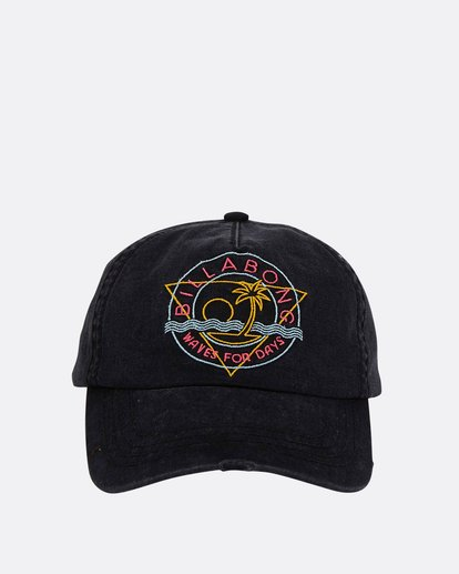 1 Girls' Surf Club Baseball Hat Black GAHWQBSU Billabong