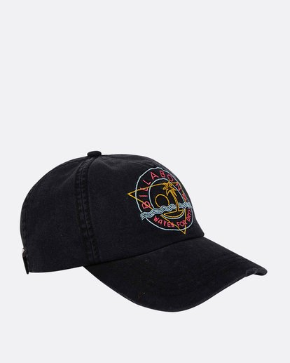 2 Girls' Surf Club Baseball Hat Black GAHWQBSU Billabong