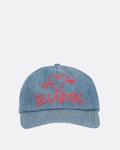 1 Girls' Surf Club Baseball Hat Blue GAHWQBSU Billabong