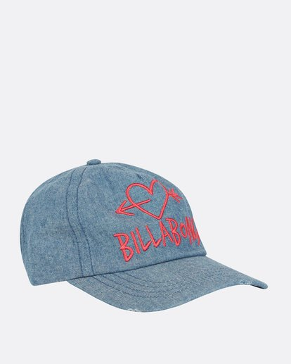 2 Girls' Surf Club Baseball Hat Blue GAHWQBSU Billabong