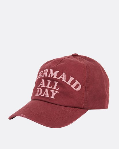 0 Girls' Surf Club Baseball Hat Purple GAHWQBSU Billabong