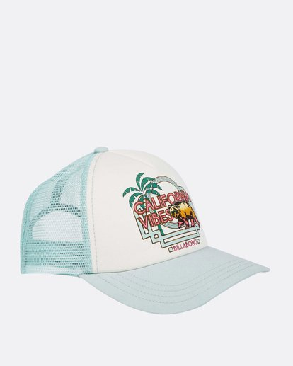 2 Girls' Cali Vibes Trucker Hat  GAHWTBCA Billabong