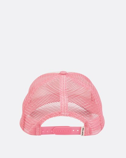 3 Girls' Cali Vibes Trucker Hat Pink GAHWTBCA Billabong