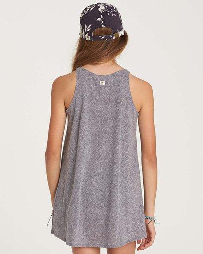 2 Girls' Choose You Dress Grey GD01NBCH Billabong