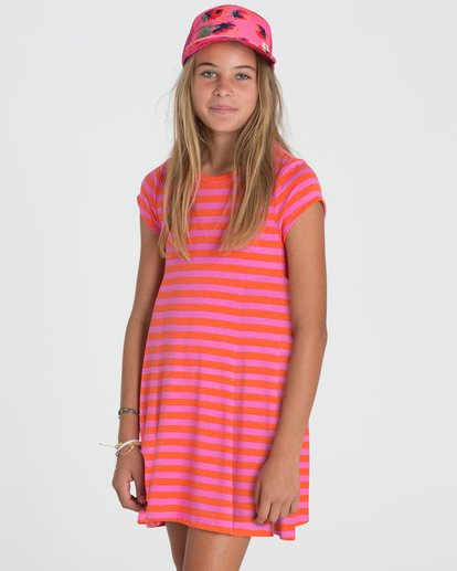 1 Girls' Field Dreams Dress  GD02PBFI Billabong