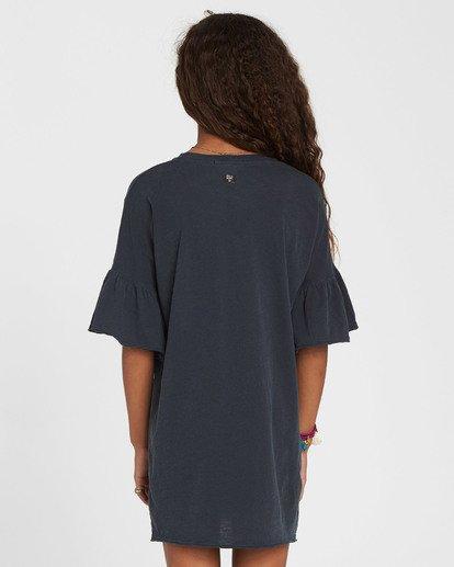 3 Girls' Wild Eyes Knit Dress Black GD02QBWI Billabong