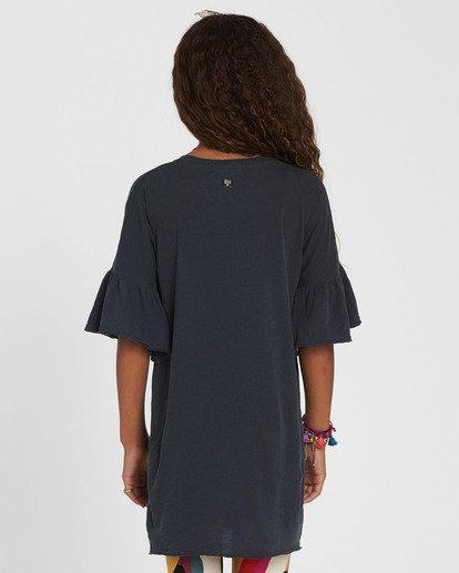 5 Girls' Wild Eyes Knit Dress Black GD02QBWI Billabong