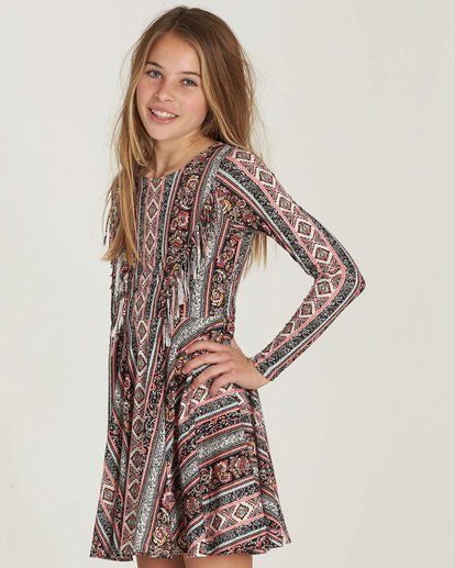 1 Girls' Stand Out Dress  GD04MSTA Billabong