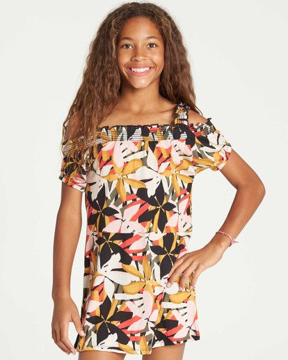 0 Girls' Coastal Love Dress  GD05TBCO Billabong