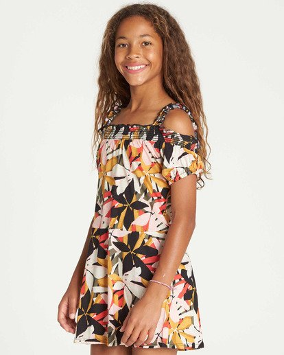 1 Girls' Coastal Love Dress  GD05TBCO Billabong