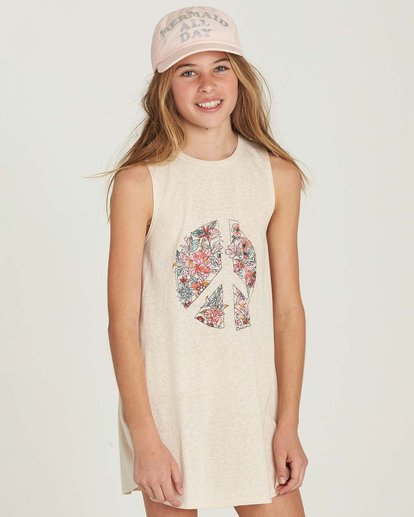 0 Girls' Peace Out Dress  GD06MPEA Billabong