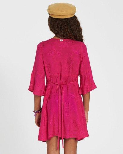 2 Girls' Divine Child Woven Dress Pink GD06SBDI Billabong