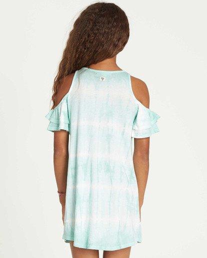 2 Girls' Chasing Waves Tie-Dye Dress  GD06TBCH Billabong