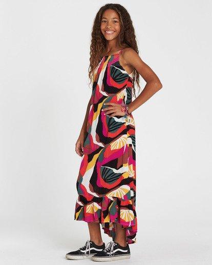 1 Girls' Maxed Out Printed Maxi Dress  GD08SBMA Billabong