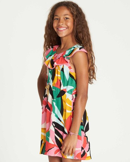 1 Girls' Under The Palms Dress  GD11TBUN Billabong