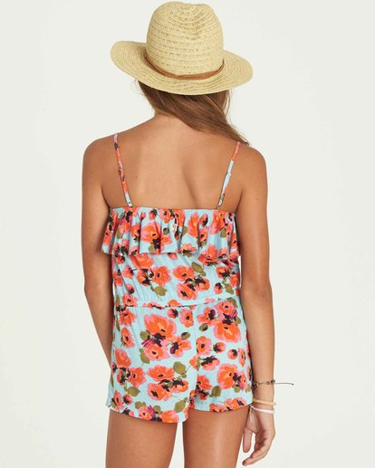 2 Girls' Play Time Romper  GN01PBPL Billabong