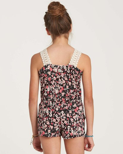 2 Girls' Happy Now Romper  GN02NBHA Billabong