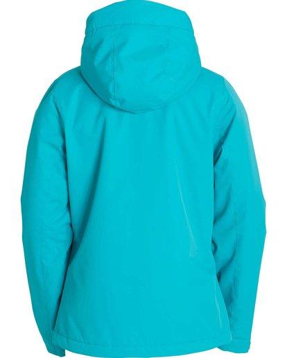 1 Girls' Terrina Outerwear Jacket Blue GSNJLTER Billabong