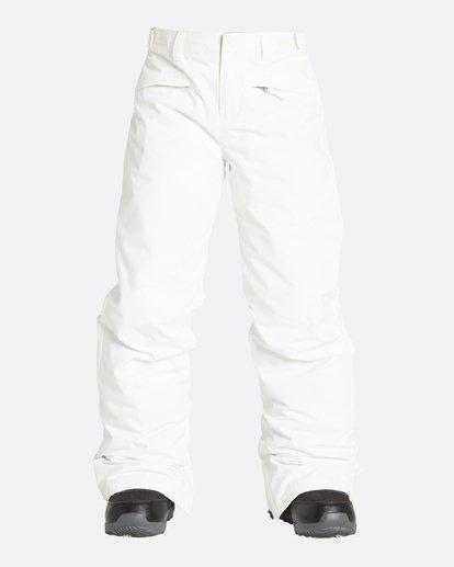 9 Girls' Alue Outerwear Pants White GSNPQALU Billabong