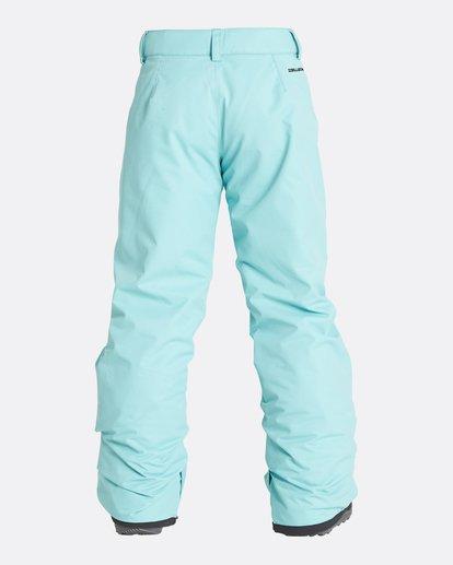 8 Girls' Alue Outerwear Pants Blue GSNPQALU Billabong