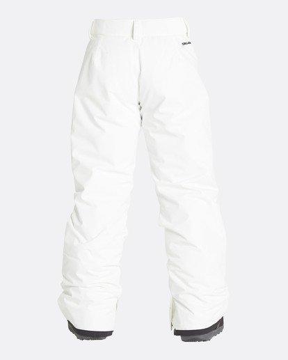 2 Girls' Alue Outerwear Pants White GSNPQALU Billabong