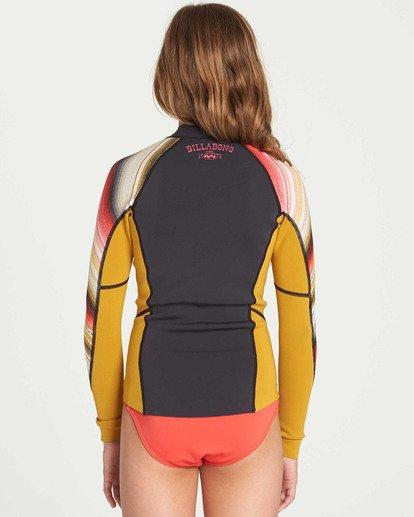 2 Girls' Peeky Wetsuit Jacket  GWSHTBSL Billabong
