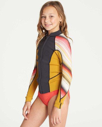 1 Girls' Peeky Wetsuit Jacket  GWSHTBSL Billabong