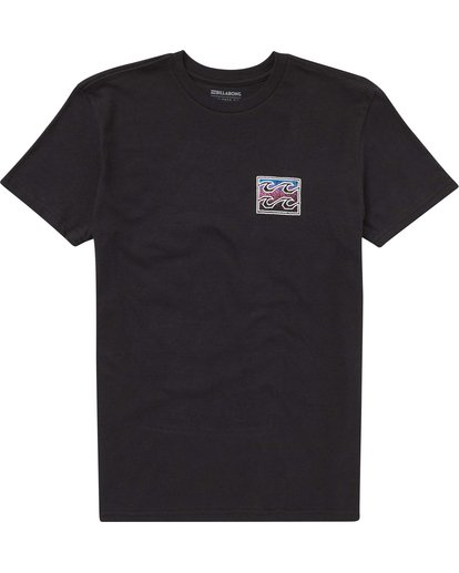 0 Baby Boys' Crusty Tee Black I401PBCR Billabong