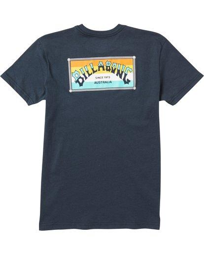 1 Baby Boys' Menehune Arch Box Tee Shirt Blue I401SBAB Billabong