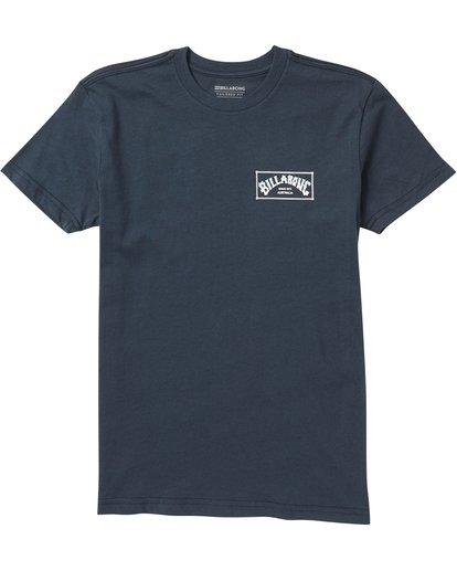 0 Baby Boys' Menehune Arch Box Tee Shirt Blue I401SBAB Billabong
