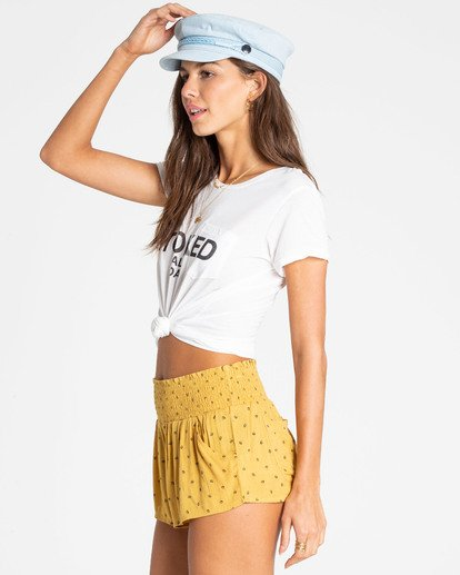 1 Waves All Day Short Yellow J204PBWA Billabong