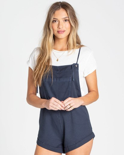 1 Wild Pursuit Short Overalls Black J204TBWI Billabong