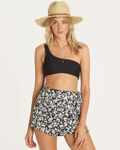 2 Flirting Devil Skort Blue J206NBFL Billabong