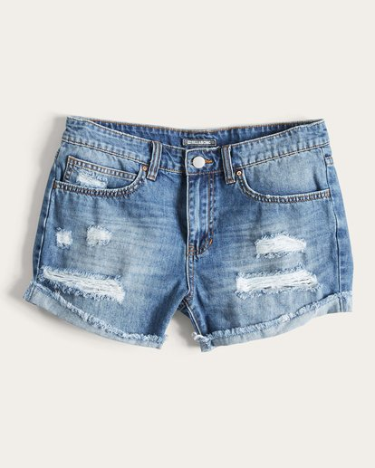 1 Coast Ryder Denim Short Blue J209LCOA Billabong