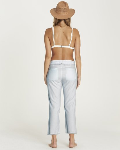 2 Casual Fling Crop Pant Blue J301PBCA Billabong