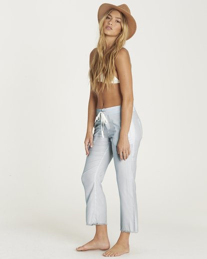 1 Casual Fling Crop Pant Blue J301PBCA Billabong
