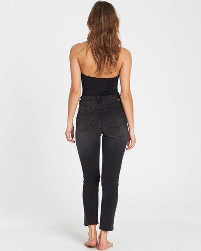 3 Cheeky High-Waisted Jeans Black J301SBCH Billabong