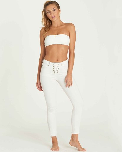 0 Side By Side Skinny Jeans Blue J306MSID Billabong