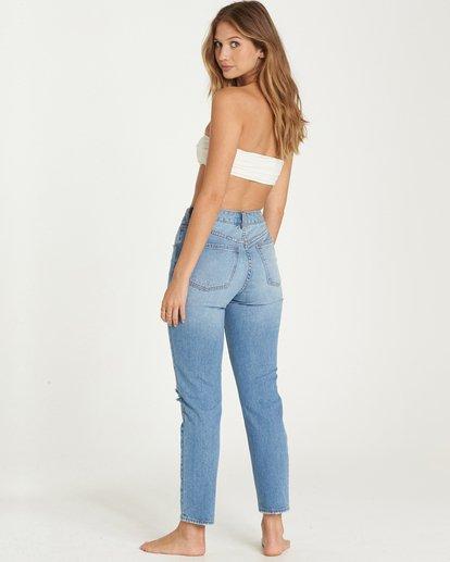 2 Cheeky High-Rise Jeans Blue J311LCHE Billabong