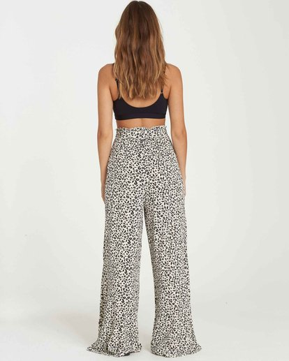 2 Happy Dance Wide-Leg Pant Black J311QBHA Billabong