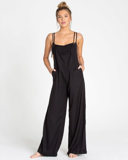 3 Wild Lengths Overalls Black J317TBWI Billabong