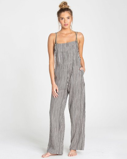 0 Wild Lengths Overalls Black J317TBWI Billabong