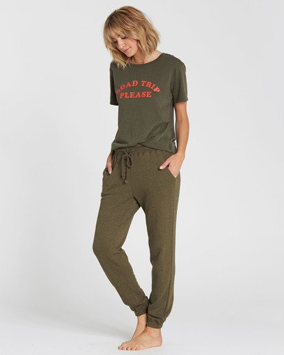 1 Here We Go Sweatpant Green J320SBHE Billabong