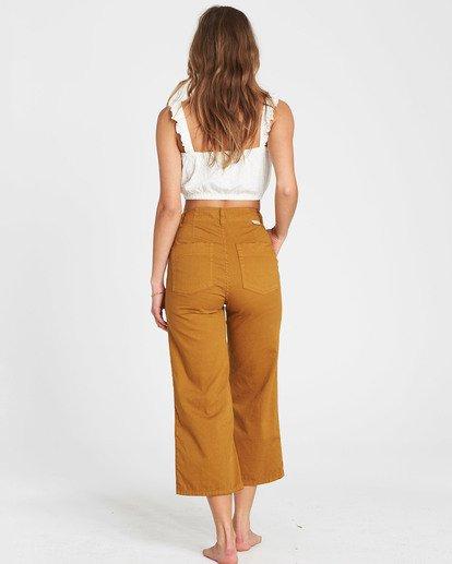 1 Lowtide Wide-Leg Pant Yellow J341QBLO Billabong