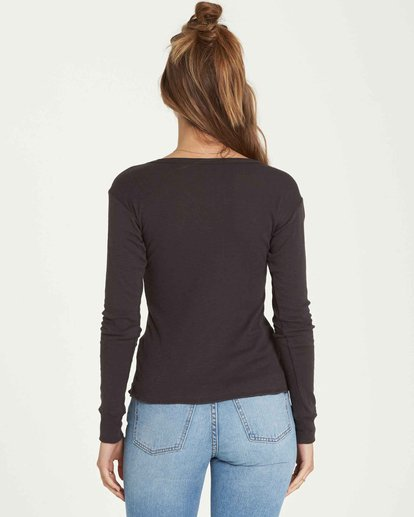 2 Easy Come And Go Long Sleeve Black J424QBEA Billabong
