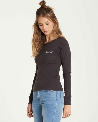 1 Easy Come And Go Long Sleeve Black J424QBEA Billabong
